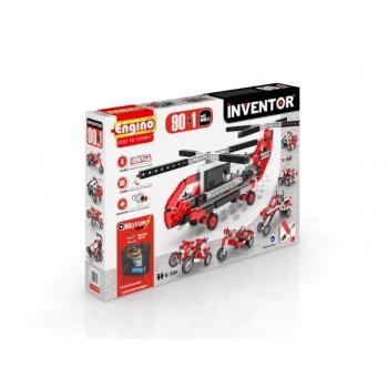 Конструктор Engino Inventor 9030 (90 моделей с мотором)