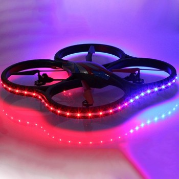 Квадрокоптер WL Toys UFO Drones V333 Headless Cyclone LED Edition 2.4G