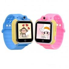 Детские GPS часы с камерой Smart Baby Watch Q75 (GW1000) 3G