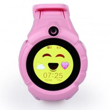 Детские GPS часы Smart Baby Watch Q360 с фонариком и камерой