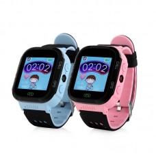 Детские GPS часы Smart Baby Watch G100 (Q65 / T7 / GW500S) с фонариком и камерой