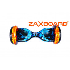 Аква Гироскутер ZAXBOARD ZX-10 Lite (Redblue/Огонь и лед)