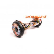 Аква Гироскутер ZAXBOARD ZX-10 Lite (Граффити оранжевый/Las Vegas)