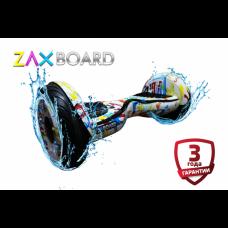 Аква Гироскутер  ZAXBOARD ZX-11 (Граффити белый)